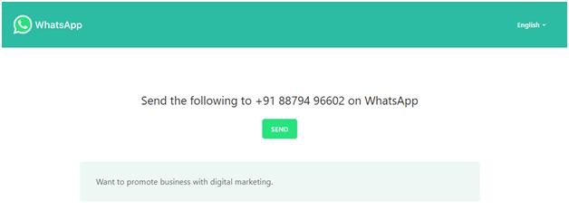How to use Whatspp API correctly